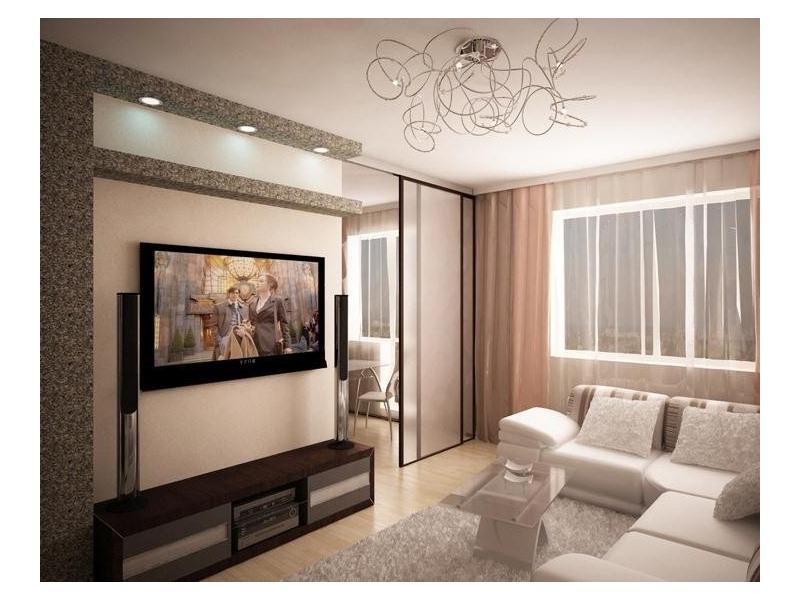Дизайн однокомнатных угловых квартир