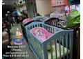 Много кроваток детских в магазине АИСТ г.Пермь ул.Сысольская 6